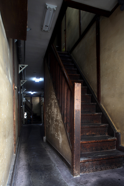 木造アパート「協和荘」。高田馬場3丁目